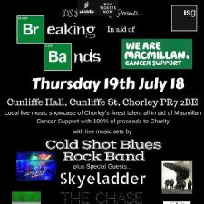 Breaking Bands with Macmillan Cancer Support and ISG