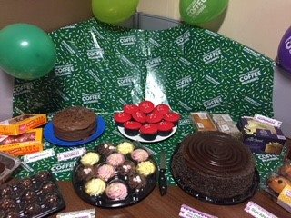 DL M&E says cancer can EAT it with £200 donation - DL M&E Building Services