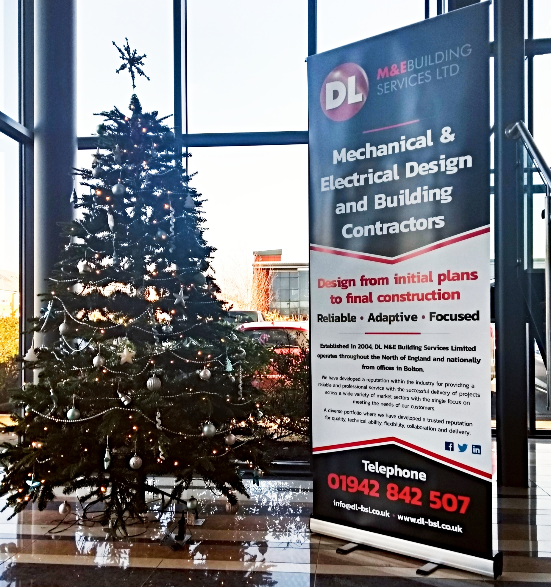 Constructing a Happy Christmas Morning with Cash For Kids - DL M&E Building Services